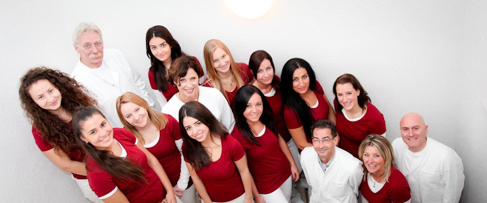 Unser Team. Mitarbeiter der Zahnärzte am Rathausplatz