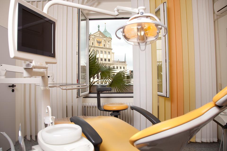 Behandlungszimmer 2 – Zahnarztpraxis am Rathausplatz